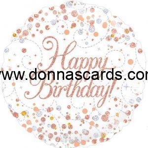 Open Happy Birthday Balloons