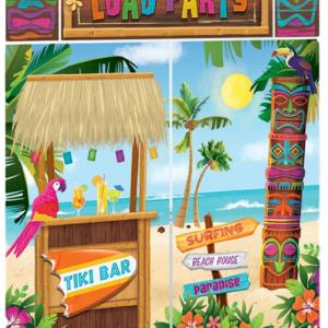 Hawaiian and beach party