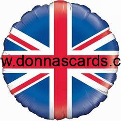 Union Jack Themed Party