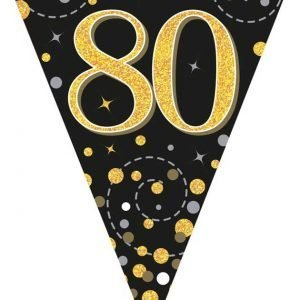 Black and Gold Bunting