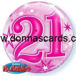 Age Bubble Balloons