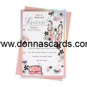 Friend Cards Female