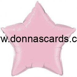 """Solid Colour 36"""" Foil Star Balloons"""